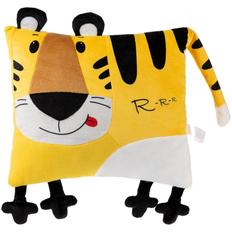 Подушка Tigress, желтая / черная фото