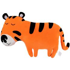 Подушка-игрушка Chan, оранжевая / черная фото