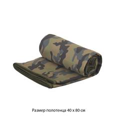 Полотенце для фитнеса Камуфляж, зеленый фото