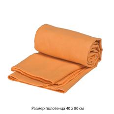 Полотенце для фитнеса Тонус, оранжевый фото