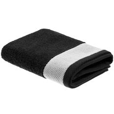 Полотенце Etude, большое, черное фото