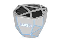Колонка портативная с подсветкой Xoopar Geo, светло-серая фото
