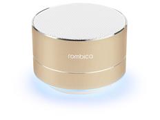 Колонка портативная Rombica Mysound BT 03 4C, золотая фото