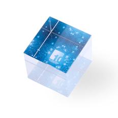 Пресс-папье стеклянное Cudor, прозрачное фото