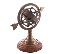 Пресс-папье Sundial, латунный фото