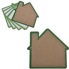 Промо-блокнот Дом, зеленый фото