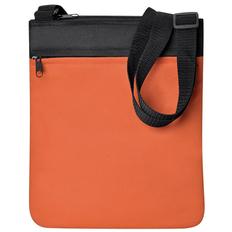 Промо сумка на плечо Simple, оранжевый фото