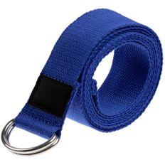 Ремень для йоги Loka, синий фото