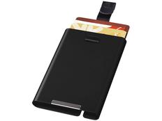 Чехол для карт Marksman с RFID, черный, черный фото