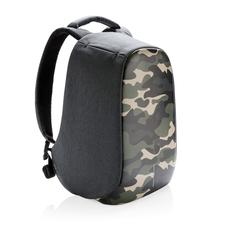 """Рюкзак антикражный для ноутбука 14"""" XD Design Bobby Compact, серый / зеленый фото"""