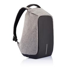 """Рюкзак антикражный для ноутбука 17"""" XD Design Bobby, серый меланж / черный фото"""