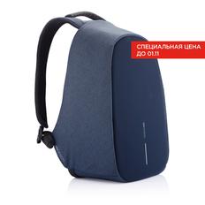 Рюкзак Bobby Pro с защитой от карманников, синий фото