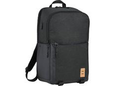 Рюкзак Camden для ноутбука 17, чёрный/серый фото