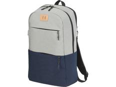 Рюкзак Cason для ноутбука 15, серый/тёмно-синий фото
