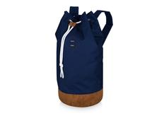 Рюкзак Slazenger Chester, синий/коричневый фото