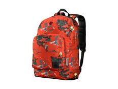 """Рюкзак Wenger Crango с принтом с отделением для ноутбука 16"""", красный фото"""