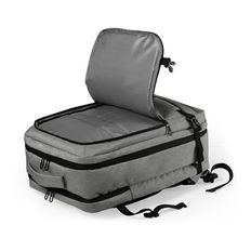 "Рюкзак для ноутбука 17"" Sulkan, серый фото"