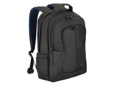 Рюкзак для ноутбука 17.3'' RIVACASE с двумя внешними карманами, черный фото