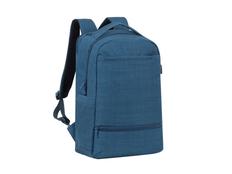 Рюкзак для ноутбука 17.3'' RIVACASE с внутренним отделением для планшета, синий фото