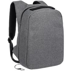 Рюкзак для ноутбука Indivo InGreed S, серый меланж фото