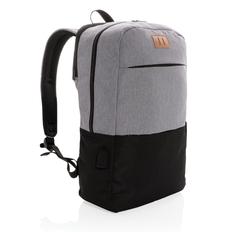 """Рюкзак для ноутбука Modern USB & RFID, чёрно-серый, 15"""" фото"""