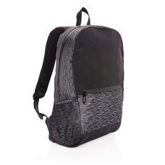 Рюкзак для ноутбука XD Collection светоотражающий из RPET AWARE™, черный / серый фото