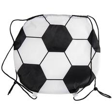 Рюкзак для обуви (сменки) илифутбольного мяча, белый фото