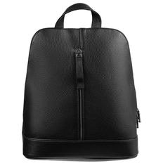 Рюкзак женский кожаный Eleganza, черный фото