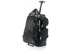 Рюкзак Elleven на колесиках с отделением для ноутбука, черный фото