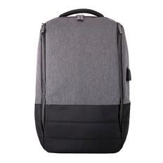 Рюкзак GRAN, черный, серый фото