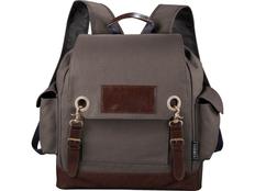 Рюкзак, серый, коричневый фото