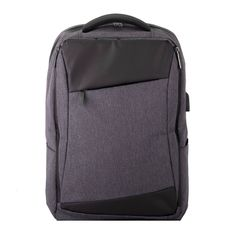 Рюкзак LEIF, черный, серый фото