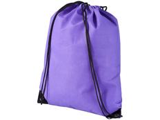 Рюкзак-мешок Evergreen, отделение затягивается шнурком, фиолетовый фото