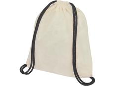 Рюкзак-мешок Oriole, белый / черный фото