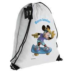 Рюкзак «Микки Маус. Born Leader», белый фото