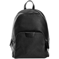 Рюкзак мужской кожаный Dominante, черный фото