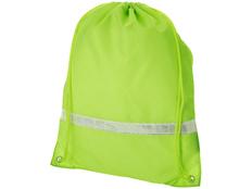 Рюкзак Premium со светоотражающей полоской, зеленый фото