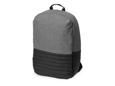 Рюкзак противокражный для ноутбука 15'' Comfort, черный / серый меланж фото