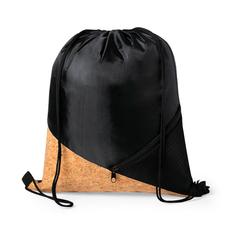 Рюкзак с деталью из пробки Flicken, черный/ коричневый фото