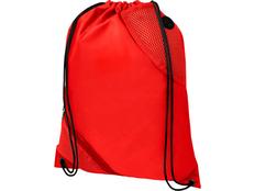 Рюкзак с двойным кармашком Oriole, красный фото