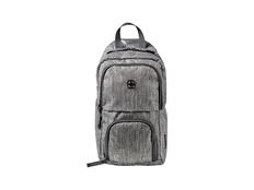 Рюкзак с одним плечевым ремнем WENGER, серый меланж фото
