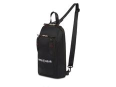 Рюкзак с одним плечевым ремнем Swissgear, черный фото