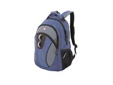 """Рюкзак с отделением для ноутбука 13"""" Swissgear, синий/ серый фото"""