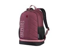 """Рюкзак с отделением для ноутбука 16"""" Wenger Collegiate Quadma, бордовый фото"""