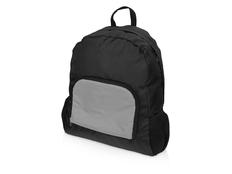 Рюкзак складной светоотражающий Us Basic Reflector, черный фото