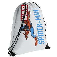 Рюкзак Spider-Man, белый фото