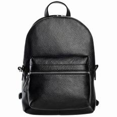 Рюкзак женский кожаный Alto, черный фото