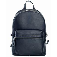 Рюкзак женский кожаный Alto, темно-синий фото
