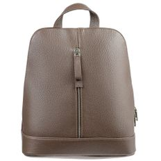 Рюкзак женский кожаный Eleganza, бежевый фото