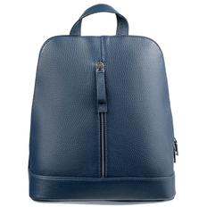 Рюкзак женский кожаный Eleganza, синий фото
